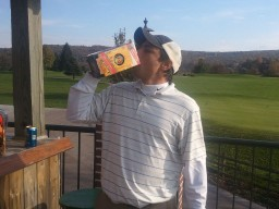 1st place goes to Alex Scarcella with a 4-0 record, pocketed $120 and the official Oktoberfest 'mas' liter Paulner mug and beer!