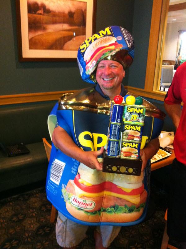 Lary von Arx is your 2013 SPAM Champion !!!
