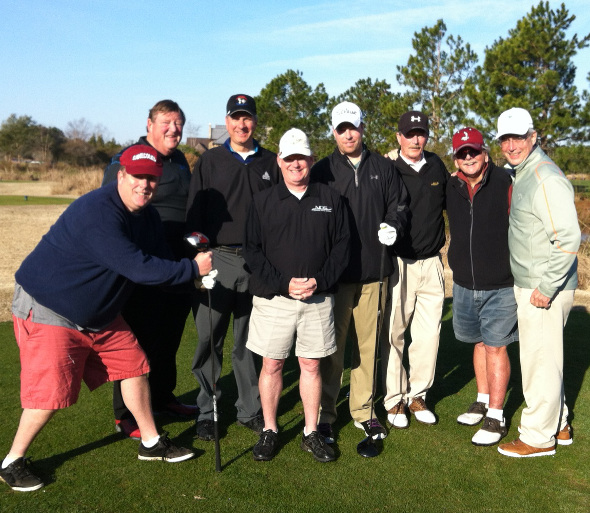 From left to right: Bob Hoff, Rodger Baker, Chuck Petrilla, Pat Keough, Kieth Ruppel, Les Ruppel, Gary Price (FNG), Frank Mejia