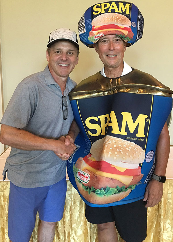 Don Drehoff with Frank Mejia, 2019 SPAM Champion !!!